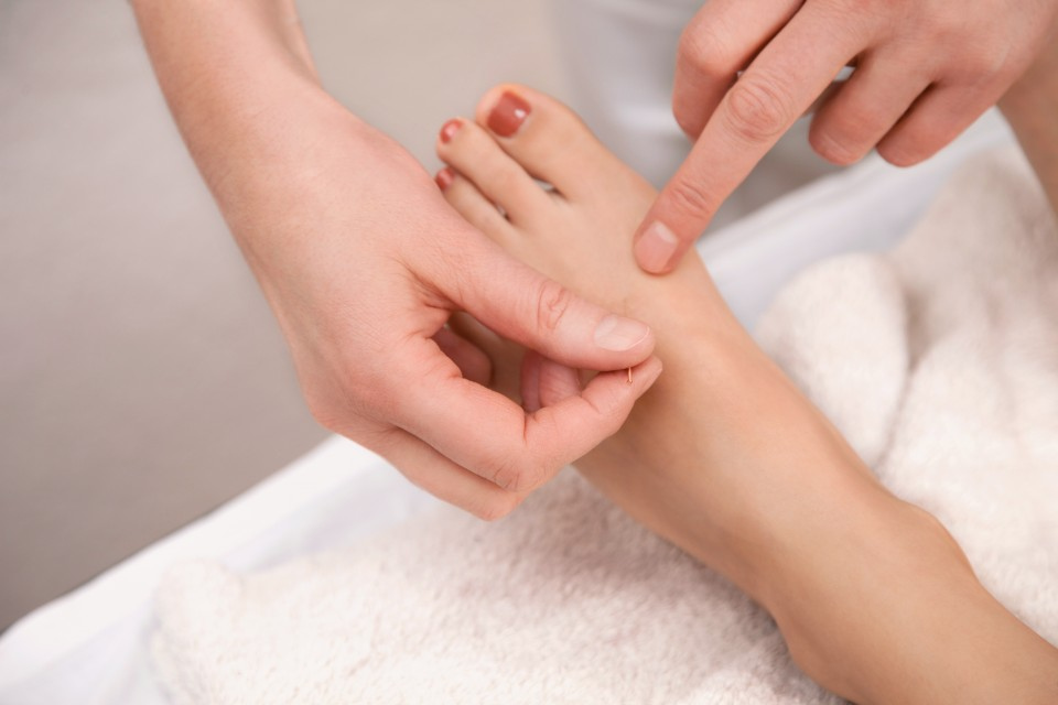 bigstock-Acupuncture-Treatment-On-Foot-41802010-e1393972525221